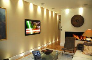 Media Room lighting LED Colour change